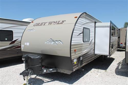New 2016 Forest River Grey Wolf 26DBH Travel Trailer For Sale