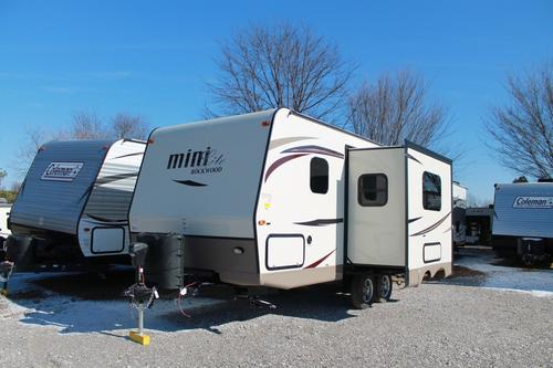 New 2016 Forest River Rockwood Mini Lite 2104S Travel Trailer For Sale