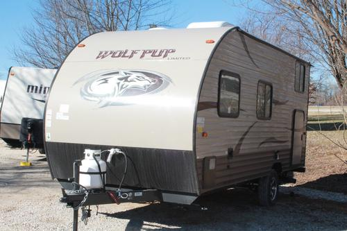 New 2016 Forest River WOLF PUP 16BHS Travel Trailer For Sale