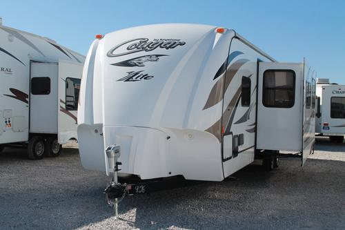 Used 2014 Keystone Cougar 33RBI Travel Trailer For Sale