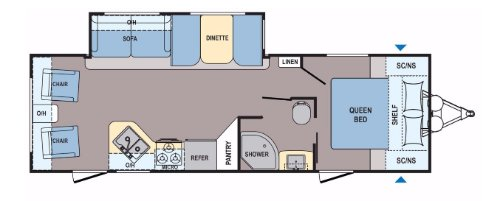 Floor Plan : 2020-COLEMAN-2605RL