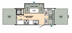 Floor Plan : 2008-STARCRAFT-SS3416