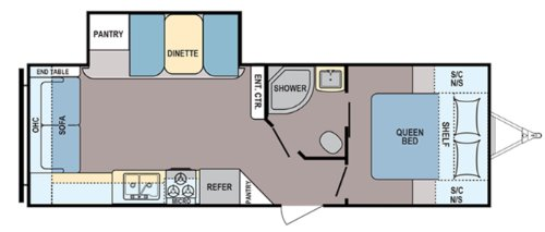 Floor Plan : 2020-COLEMAN-2515RL