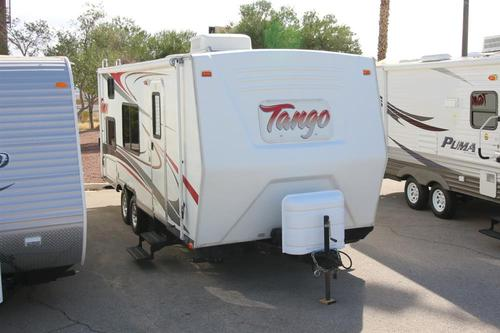 Used 2007 Pacific Coachworks Tango 217BH Travel Trailer For Sale