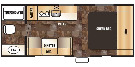 Floor Plan : 2016-FOREST RIVER-16FQ