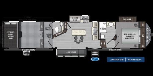Floor Plan : 2020-KEYSTONE-415