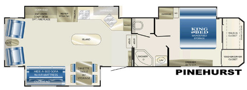 Floor Plan : 2009-HEARTLAND-PINEHURST
