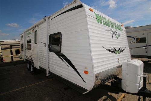 Used 2011 Forest River Wildwood 26BH-XL Travel Trailer For Sale