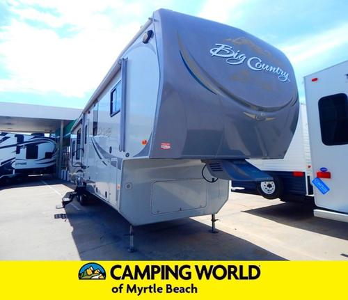 Used 2012 Heartland Big Country 3650RL Fifth Wheel For Sale
