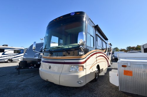 Bathroom : 2008-HOLIDAY RAMBLER-40SKQ