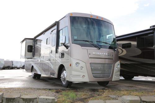 Innovative 2016 Winnebago Vista LX 35F Stock 004034  Campers RV Center