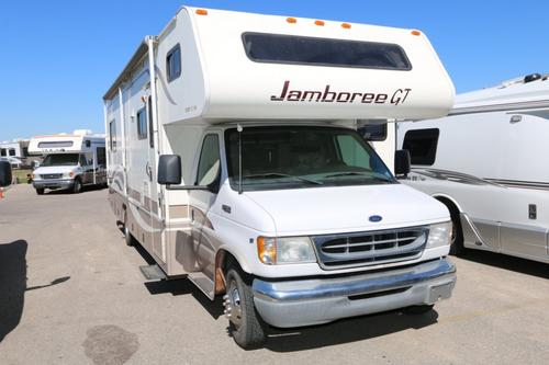 Used 2001 Fleetwood Jamboree GT 31W Class C For Sale