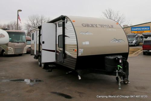 New 2016 Forest River Grey Wolf 29DSFB Travel Trailer For Sale
