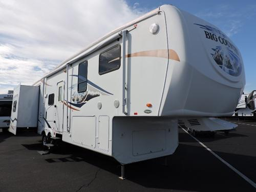 Used 2009 Heartland Big Country 3490BHS Fifth Wheel For Sale