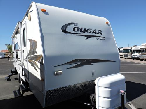 Used 2009 Keystone Cougar 243RKS Travel Trailer For Sale