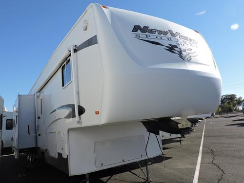 Used 2009 SPORTSMEN Sportster 41K Fifth Wheel Toyhauler For Sale