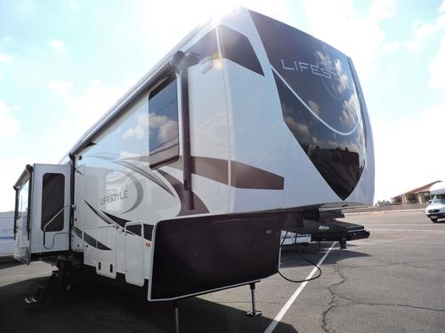 Used 2014 EVERGREEN LIFESTYLE LS37IK Fifth Wheel For Sale