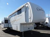 Used 2008 Keystone Challenger 35CKQ Fifth Wheel For Sale