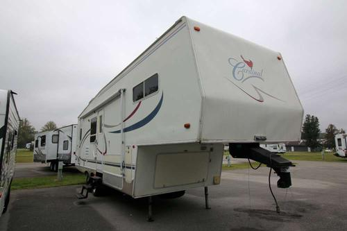 Used 2002 Forest River Cardinal 28WB Fifth Wheel For Sale