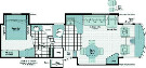 Floor Plan : 2007-WINNEBAGO-38J