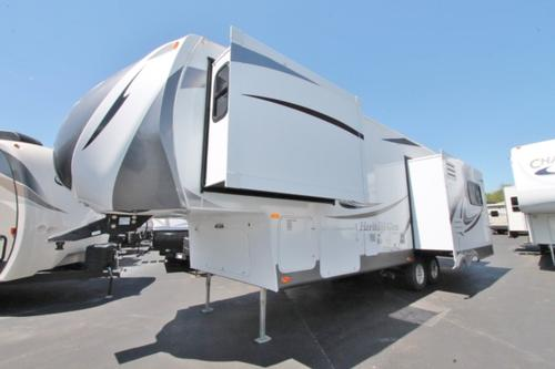 Used 2013 Forest River HERITAGE GLEN 286RLT Fifth Wheel For Sale