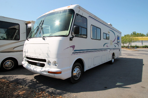 Class A Front Living RVs For Sale - Camping World Hkr