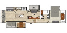 Floor Plan : 2016-BROOKSTONE-395RL