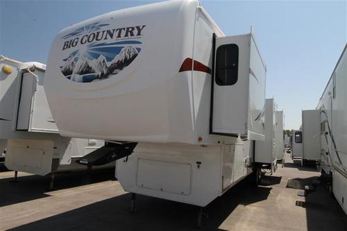 Used 2008 Heartland Big Country 3500RL Fifth Wheel For Sale
