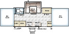 Floor Plan : 2016-FOREST RIVER-27KS
