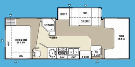 Floor Plan : 2009-COACHMEN-2600SO