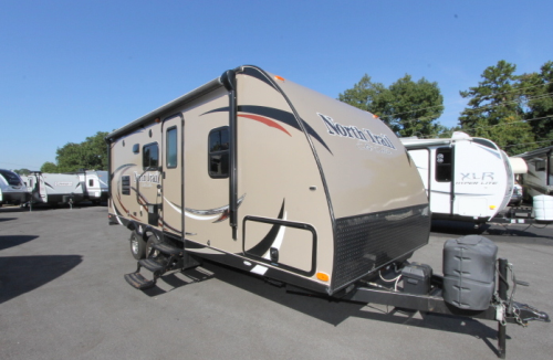 Used 2014 Heartland North Trail 21FBS Travel Trailer For Sale
