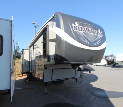 Used 2015 Heartland Silverado 36TB Fifth Wheel For Sale