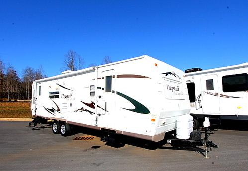 Used 2007 Flagstaff Classic Super Lite 831RLSS Travel Trailer For Sale