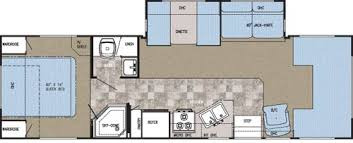 Floor Plan : 2007-GULF STREAM-6316D