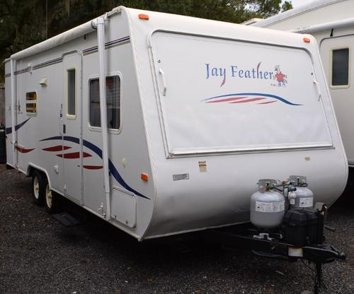 Used 2007 Jayco Jayfeather 23B Travel Trailer For Sale
