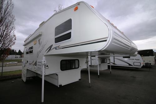 Used 2002 Fleetwood Caribou 11L Truck Camper For Sale