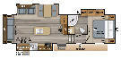 Floor Plan : 2019-JAYCO-28.5RSTS