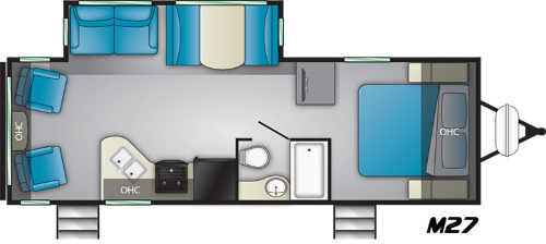 Floor Plan : 2019-HEARTLAND-IDM27