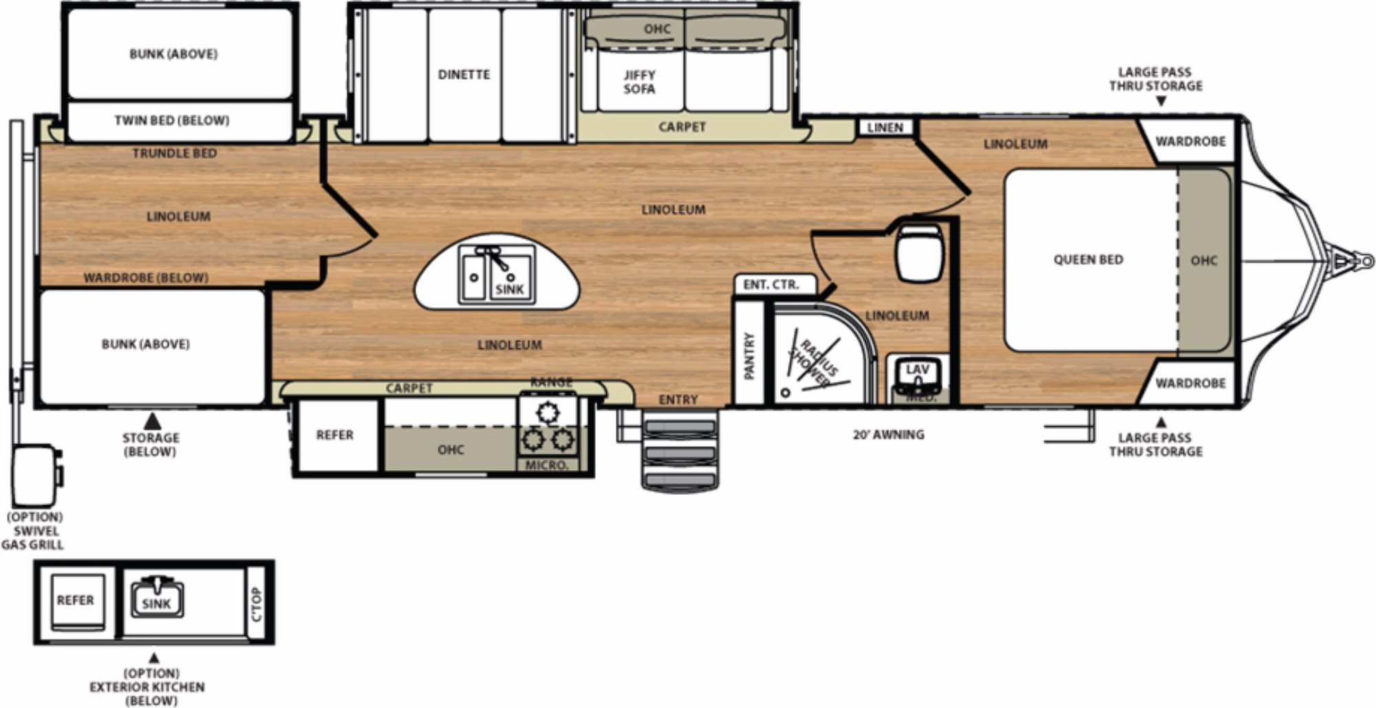 Starcraft Rv Floor Plans 2017 Forest River Vibe 312bhs Camping World Of Akron