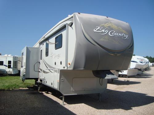 Used 2012 Heartland Big Country M-3250TS Fifth Wheel For Sale