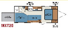 Floor Plan : 2011-K-Z RV-MXT-20
