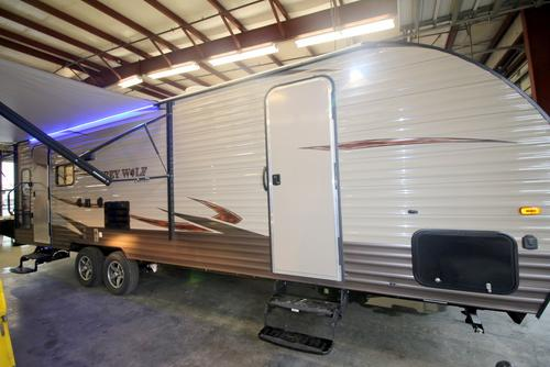New 2016 Forest River Grey Wolf 26RL Travel Trailer For Sale