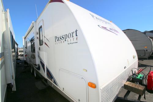 Used 2011 Keystone Passport 24RB Travel Trailer For Sale