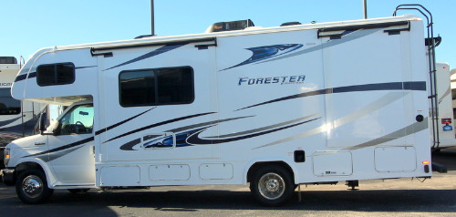 Exterior : 2019-FOREST RIVER-2501TSF