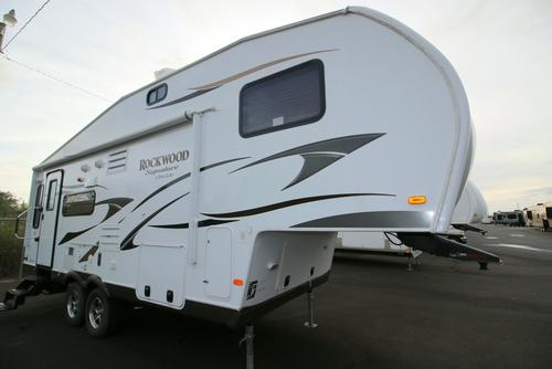 Used 2014 Forest River Rockwood 8244WS Fifth Wheel For Sale