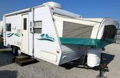 Used 2001 Keystone Cabana 2100 Hybrid Travel Trailer For Sale