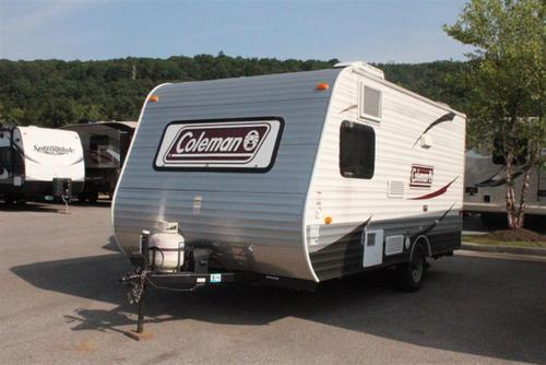 Used 2014 Coleman Coleman CTS15BH Travel Trailer For Sale