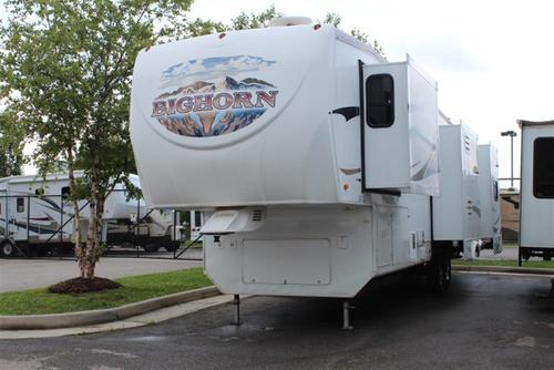 Used 2009 Heartland Bighorn M3670 Fifth Wheel For Sale