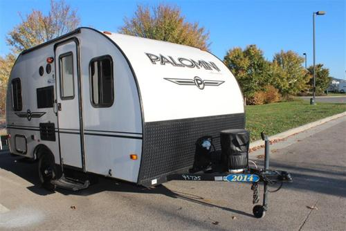 Used 2014 Forest River PALOMINI 142CK Travel Trailer For Sale