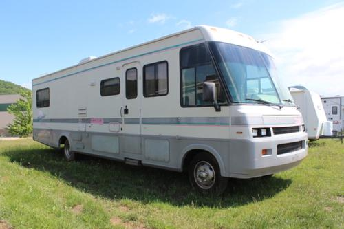 Used 1993 Itasca Suncruiser M-34RQ-OSKOSH PUSHER Class A - Diesel For Sale